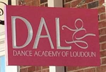 dance academy sign