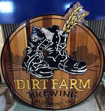 Loudoun brewery sign