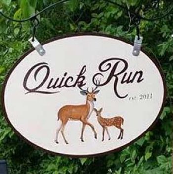 farm sign deer