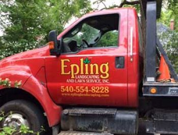 Epling truck sign