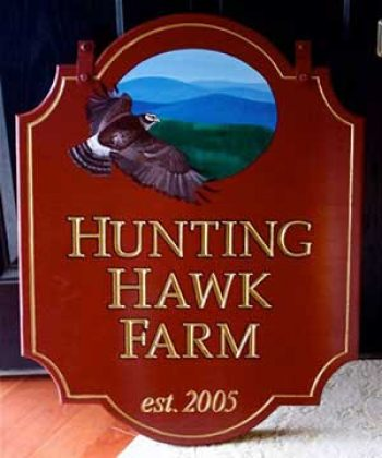 personal farm sign